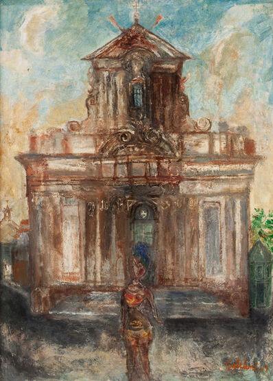 Franco Gentilini, 'CATTEDRALE', 1949