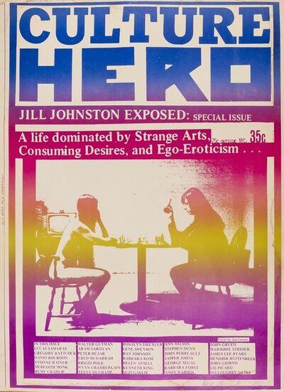 Les Levine, 'Culture Hero Materprint, Jill Johnson Exposed', 1970