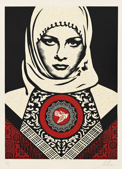 Shepard Fairey, 'Arab Woman', 2012