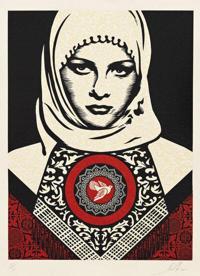Shepard Fairey (OBEY), 'Arab Woman', 2012
