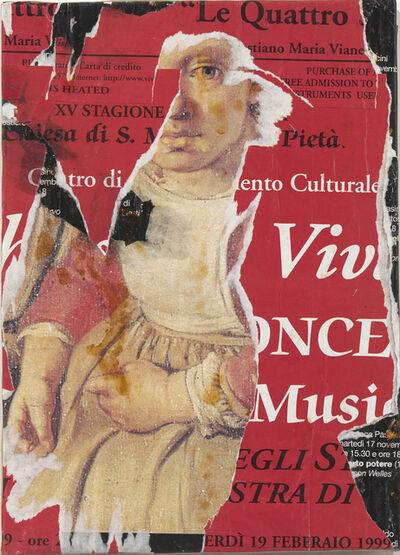 Jacques Villeglé, 'Venise', juillet 1999