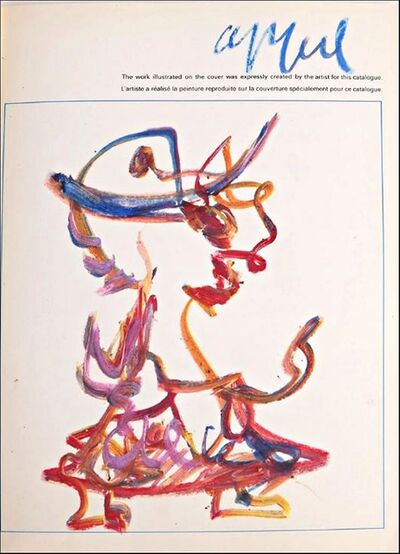 Karel Appel, 'Original Signed Drawing, from the Collection of Jacob and Aviva Baal Teshuva', ca. 1980