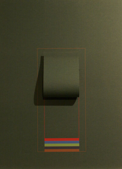 Robyn Denny, 'Mirrors (dark green)', 1974