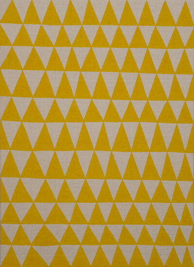 Antonio Ballester Moreno, 'TBT (Triángulos amarillos)', 2018