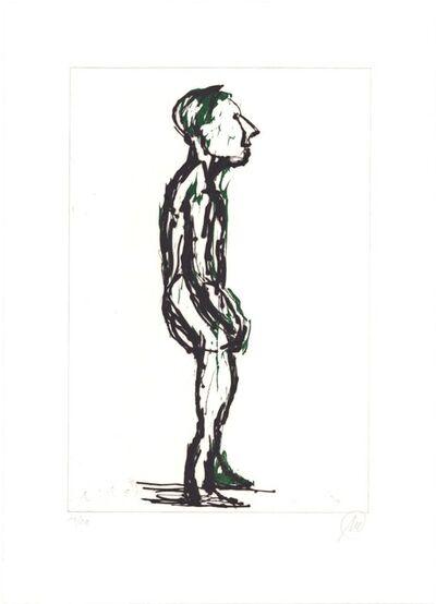 Markus Lüpertz, 'Hiob (dark green)', 2007