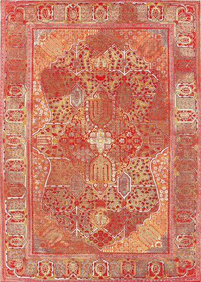 Kour Pour, 'Orange Carpet', 2012-2013