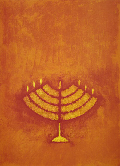Max Ernst, 'Untitled (Menorah)', 1972