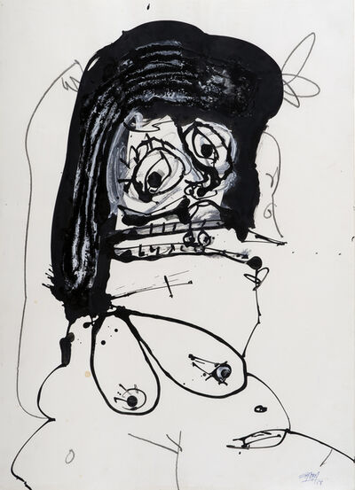 Antonio Saura, 'Duchesse', 1968