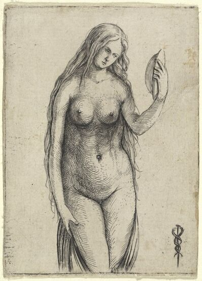 Jacopo de' Barbari, 'Nude Woman Holding a Mirror (Allegory of Vanitas)', ca. 1503/1504