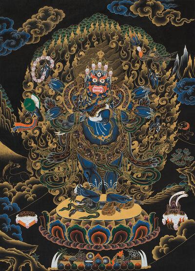 Chewang Dorje Lama, 'Six-armed Mahakala', 1997