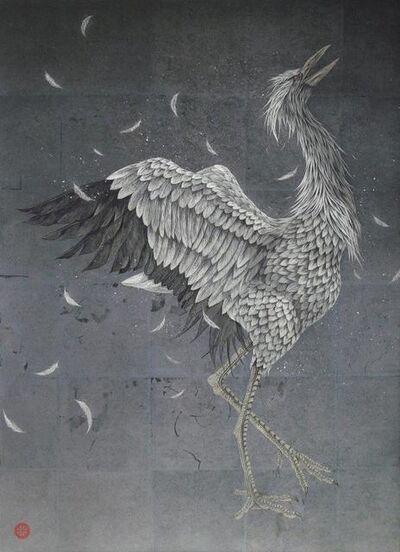 Takashi Kanazawa, 'Crying Crane', 2018