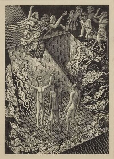Eric Ravilious, 'From Ballad Upon A Wedding', 1927