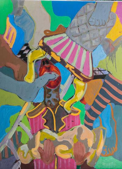 Gresham Tapiwa Nyaude, 'The Dissemblance of Normalcy Part 1', 2018
