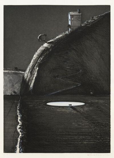 Wayne Thiebaud, 'Night Farm', 1991