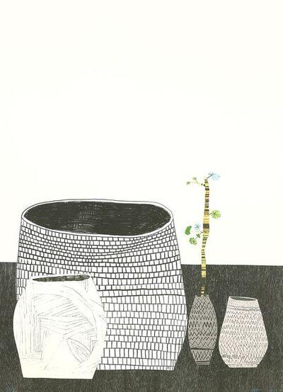 Jonas Wood, 'Untitled Pots', 2009