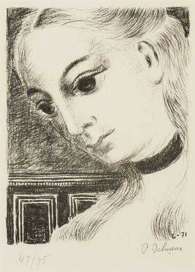 Paul Delvaux, 'Anne de Profil (Jacob 46)', 1971