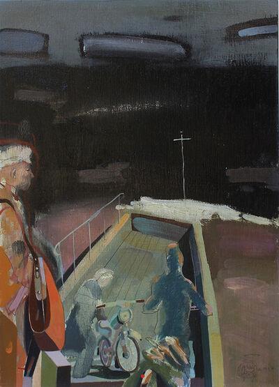 Gábor Nagy, 'Ferry crossing', 2018