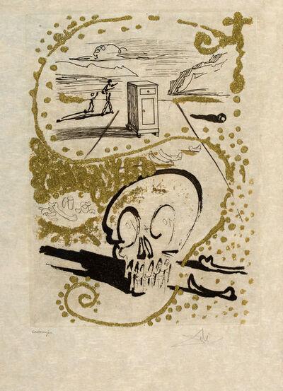 Salvador Dalí, 'Insomnia. Les Amours Jaunes ', 1974