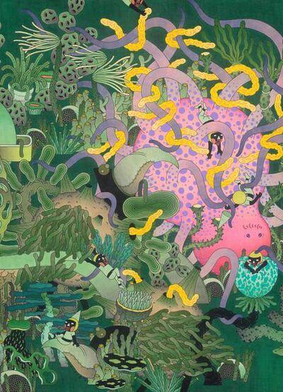 YuChing Lin & HsingYu Wei, 'Matter Garden-Fascination', 2020