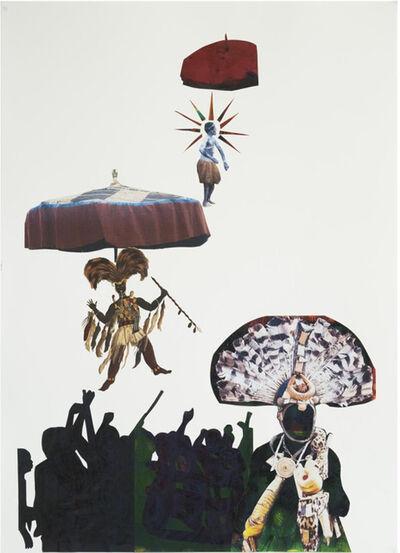 Godfried Donkor, 'Asafo II', 2017