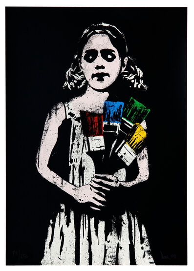 DOLK, 'Paint Brush Girl', 2008