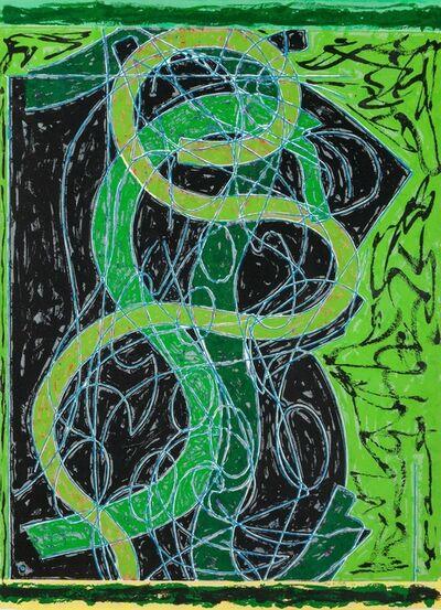 Frank Stella, 'Imola Five II', 1983