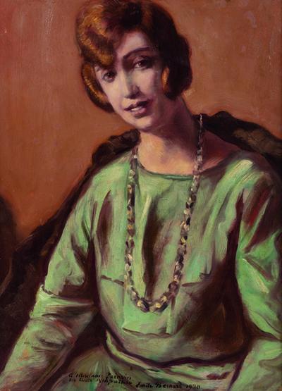 Émile Bernard, 'Portrait de Jeanne Painvin', 1930