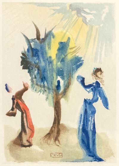 Salvador Dalí, 'Divine Comedy Purgatory Canto 24', 1974