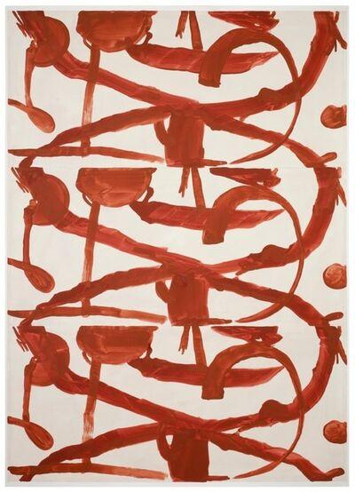 Marijn Van Kreij, 'Untitled (Klee, Als Ich Noch Jung war, Kindheit, 1938, superimposed) ', 2014