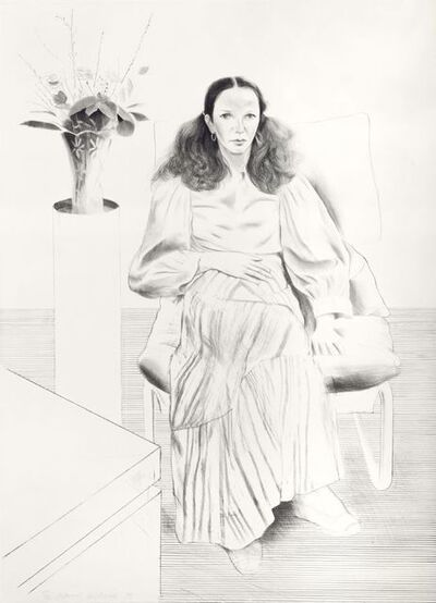 David Hockney, 'Brooke Hopper', 1976