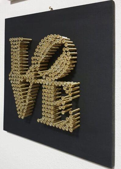 Alessandro Padovan, 'LOVE black', 2021