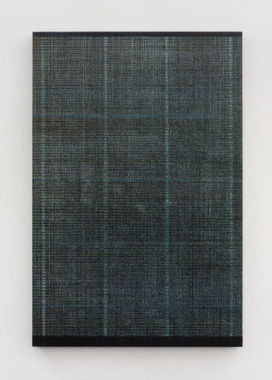 Chi Qun 迟群, '绿灰 Four lines - Green and Gray', 2018