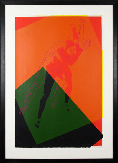 Andy Warhol, 'Speed Skater (FS II.303)', 1983
