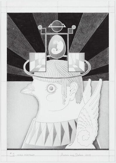 Anton van Dalen, 'Bird Portrait #5', 2018