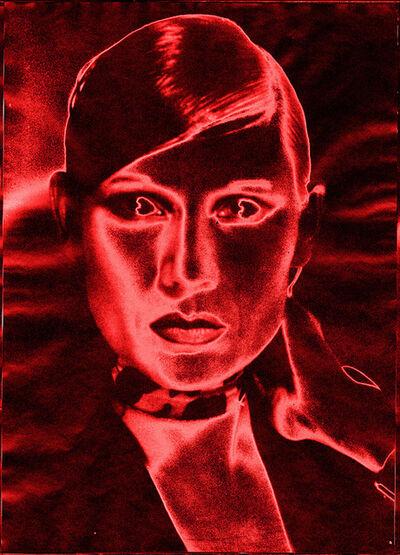 Katharina Sieverding, 'Maton Solarisation #29 (Red)', 1969