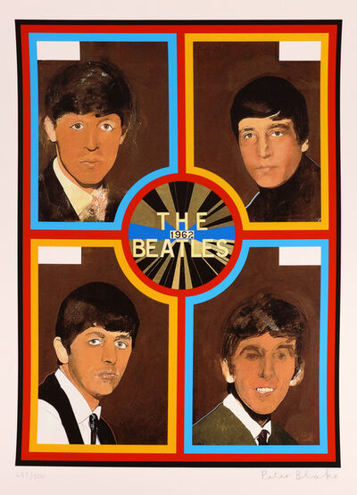 Peter Blake, 'The Beatles 1962', 2008
