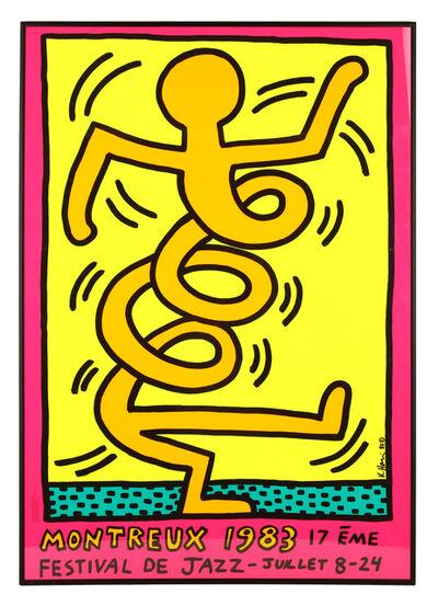 Keith Haring, 'Montreux Festival De Jazz', 1983
