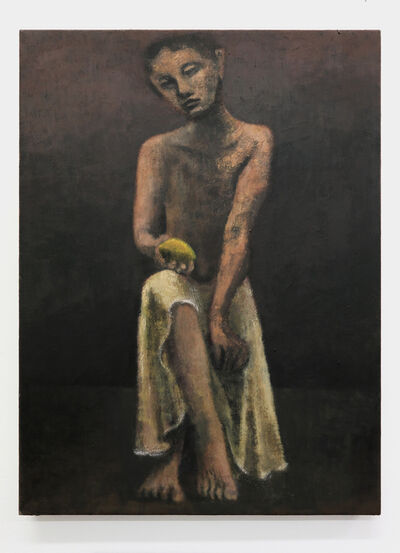 Lenz Geerk, 'Boy with Lemon', 2019