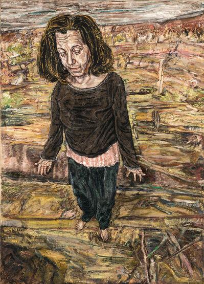Erwin Pfrang, 'Ester in Landschaft (Ester in landscape)', 2012