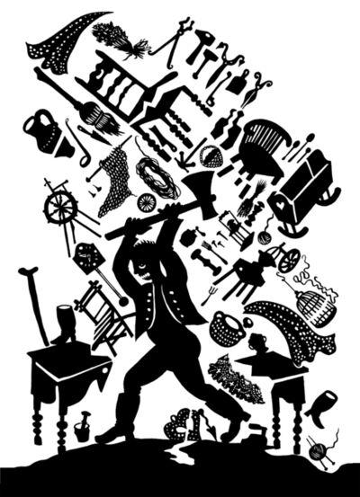 Andrea Dezsö, 'Grimm Illustrations: Godfather Sparrow', 2014