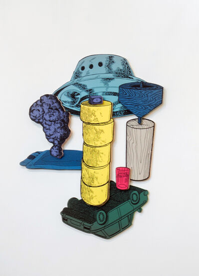 Teppei Kaneuji, 'Games, Dance and the Constructions (Color Plywood) #4', 2015