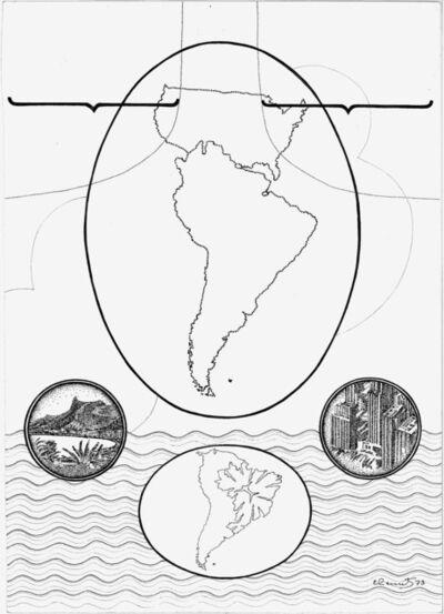Elda Cerrato, 'Serie: Geo-historiografía. Juntos a Brasil', 1973