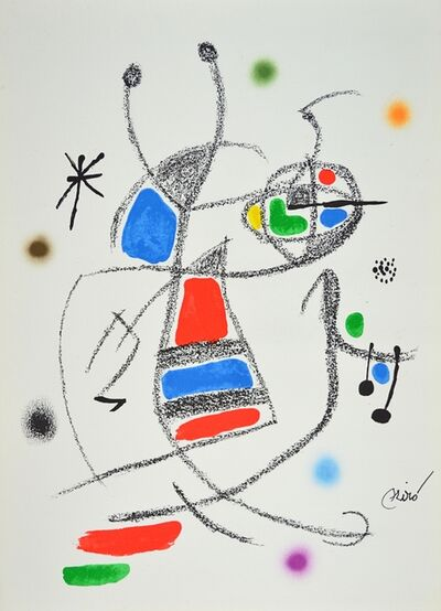 Joan Miró, 'Maravillas 8', 1960-1970