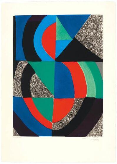 Sonia Delaunay, 'Grande icône', 1965