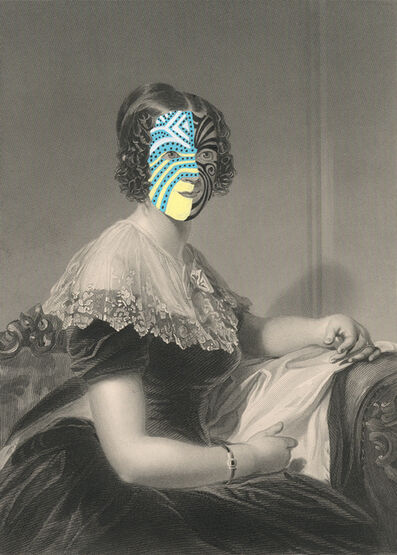 Kirsten Stolle, 'Mrs. Joseph Davis 1860/2014, from the series de-identified', 2014