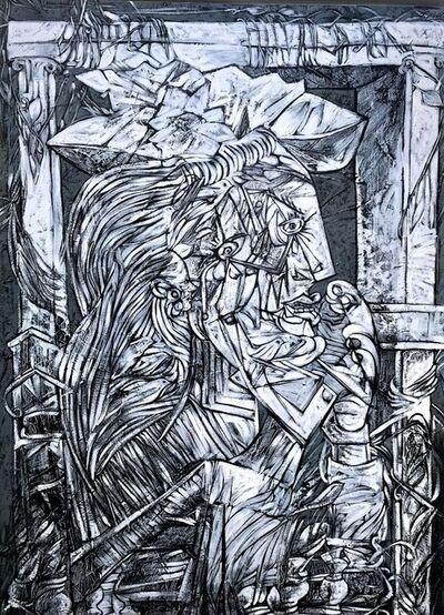 Fredy Villamil, 'Tribute to Picasso'