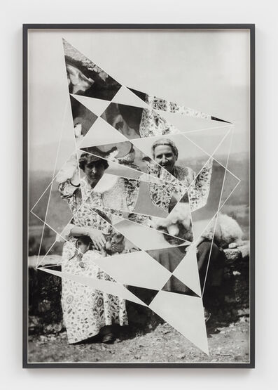 Andrea Geyer, 'Constellations (Alice B. Toklas and Gertrude Stein with Pepe and Basket)', 2018