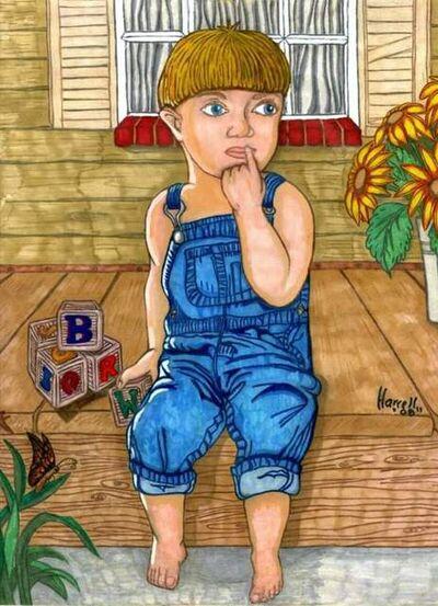 Winston Harrell jr, 'Sitting on the Porch', 2019