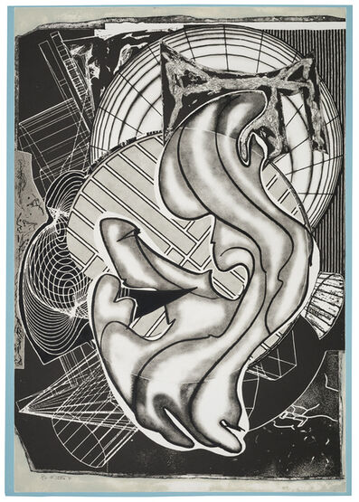 Frank Stella, 'Stubb and Flask Kill a Right Whale', 1991