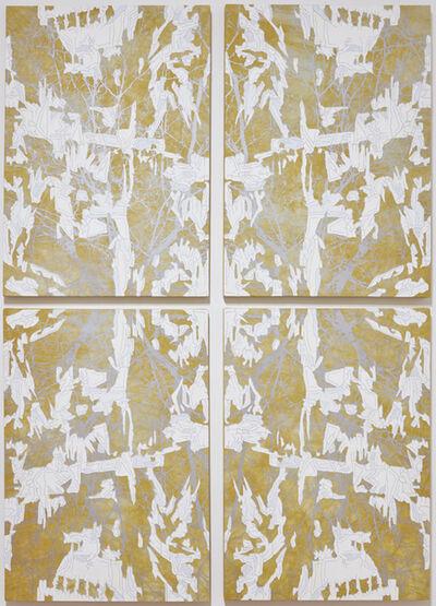 J Ivcevich, 'Untitled (Gold Mandala)', 2018